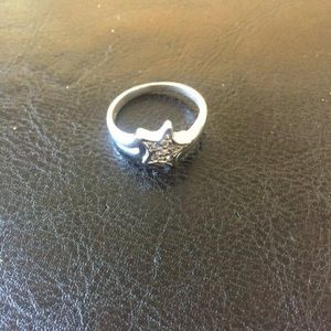 Sterling Silver .925 Star Ring Size 7